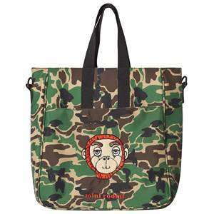 Mini Rodini Camo Gym Bag Green One Size