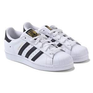 adidas Originals White Superstar Laced Trainers 32 (UK 13.5)