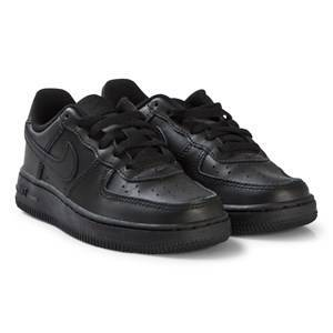 NIKE Black Air Force 1 Shoes 30 (UK 12)
