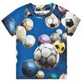 Molo Emmett T-shirt Cosmic Soccer Balls 86 cm (1-1,5 år)