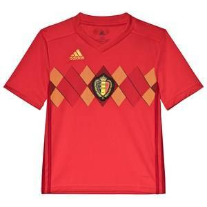 Belgium National Football Team Belgium 2018 World Cup Home Replica Jersey 9-10 years (140 cm)