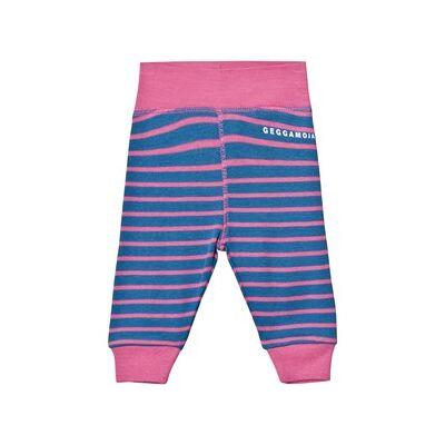 Geggamoja Premature Pant Marine And Pink 48 cm (0-1 mdr) - Børnetøj - Geggamoja
