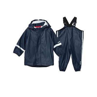 Reima Rain Outfit Tihku Navy 74 cm - Børnetøj - Reima
