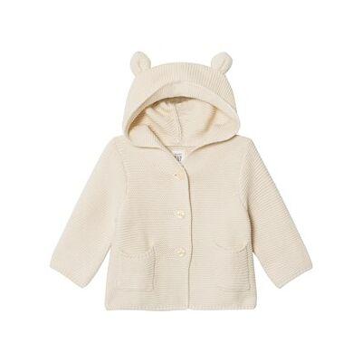 GAP Bear Garter Sweater French Vanilla 18-24 mdr - Børnetøj - GAP