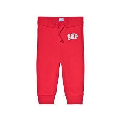 GAP Embroidered Logo Pants Red 2 år - Børnetøj - GAP
