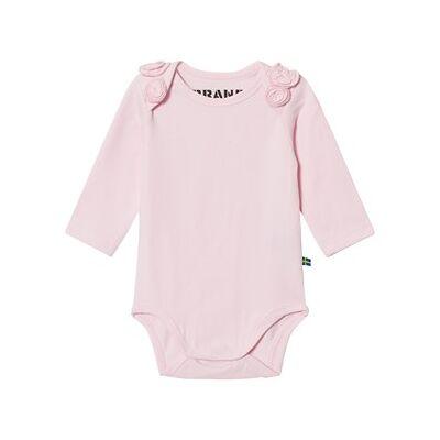 The BRAND Rose Baby Body Pink 68/74 cm - Børnetøj - The BRAND