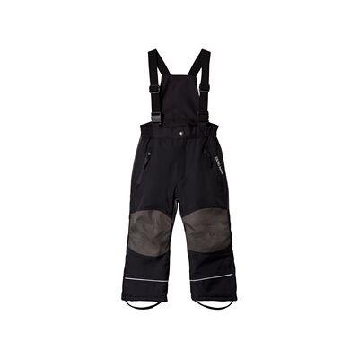 Kuling Black Voss Ski Pants 116 cm (5-6 år) - Børnetøj - Kuling