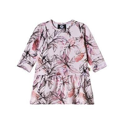 Hummel Malia Dress Holly Berry 56 cm (1-2 mdr) - Børnetøj - Hummel