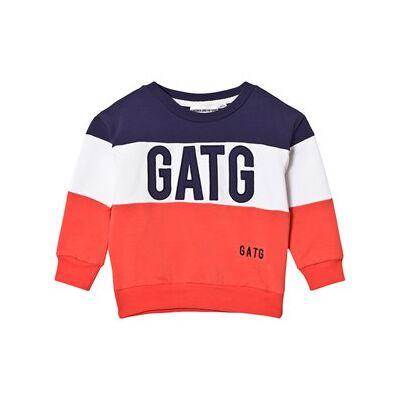 Gardner and the gang Classic Sweatshirt GATG Multi 1-2 år - Børnetøj - Gardner and the gang