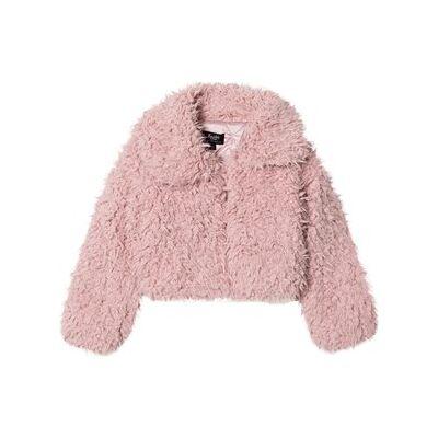 Bardot Junior Pink Lexi Fluffy Jacket 10 years - Børnetøj - Bardot Junior