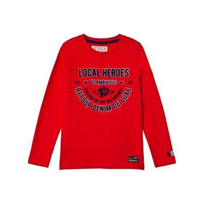 Retour Gillian T-Shirt Bright Red 9-10 Years - Børnetøj - Retour