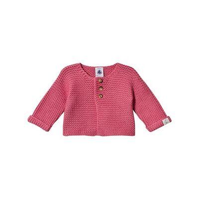 Petit Bateau Baby Cardigan Pink 1 mdr - Børnetøj - Petit Bateau