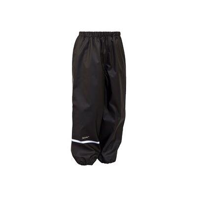 Celavi Rain Pants Solid Black 110 cm (4-5 år) - Børnetøj - Celavi