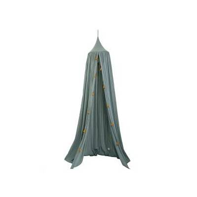 Roommate Bed Canopy Sea Grey One Size - Børnetøj - Roommate