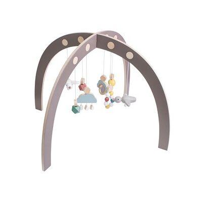 sebra Baby Gym Warm grey 0 - 12 mdr. - Børnetøj - sebra