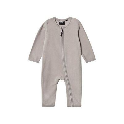 Kuling North Pole Baby Onesie Grå 56 cm - Børnetøj - Kuling