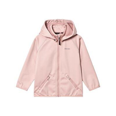 Kuling Paris Soft Shell Jacket Woody Rose 116 cm - Børnetøj - Kuling