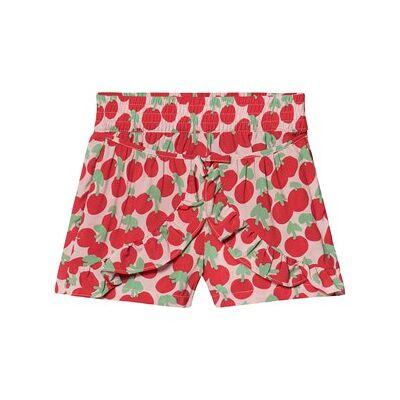 Stella McCartney Kids Red Cherry Print All Over Shorts 12 years - Børnetøj - Stella McCartney Kids