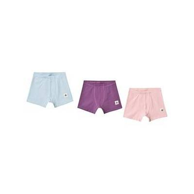 A Happy Brand 3-Pack Boxers Pink/Turquoise/Purple 86/92 cm - Børnetøj - A Happy Brand