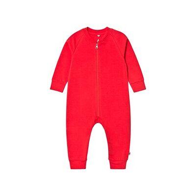 A Happy Brand One-Piece Red 50/56 cm - Børnetøj - A Happy Brand