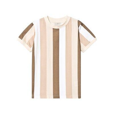 Unauthorized Devon T-Shirt Sesame Brown 10år/140cm - Børnetøj - Unauthorized