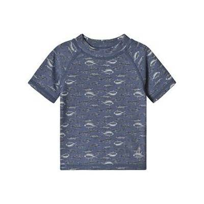 Wheat Jackie Swim Shirt Bering Sea 98 cm (2-3 år) - Børnetøj - Wheat