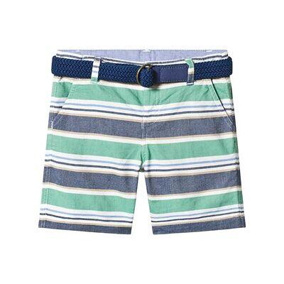 Mayoral Grass Striped Bermuda Shorts 9 years - Børnetøj - Mayoral