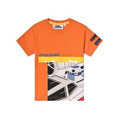 Fabric Flavours Star Wars R2D2 Tee Orange 6-7 years - Børnetøj - Fabric Flavours