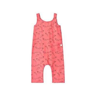 Sproet & Sprout Playing Cards Jumpsuit Light Blue 80-92 (1-2 years) - Børnetøj - Sproet & Sprout