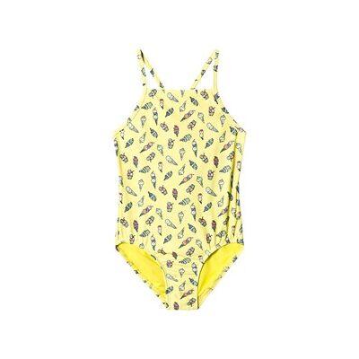 GAP Vibrating Swimsuit Yellow L (10-11 år) - Børnetøj - GAP