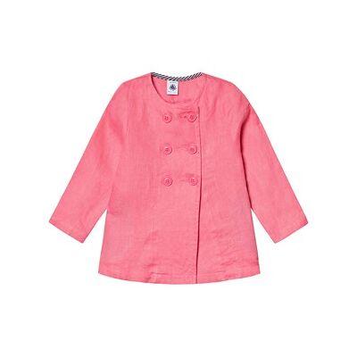 Petit Bateau Veste Longue Cupcak Pink 8 år - Børnetøj - Petit Bateau