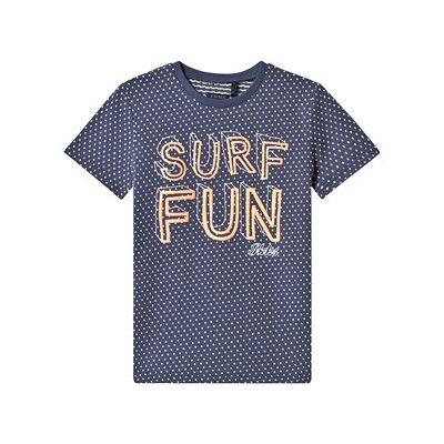 IKKS Surf Fun Tee Blå 10 years - Børnetøj - IKKS