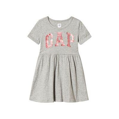 GAP Gap Flp Dress Grey Heather XL (12-13 år) - Børnetøj - GAP