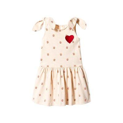 Blune Initials BB Dress Powder Pink 3 år - Børnetøj - Blune