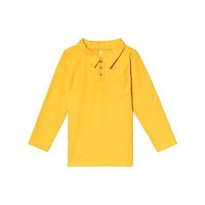 A Happy Brand Polo Shirt Yellow 86/92 cm - Børnetøj - A Happy Brand
