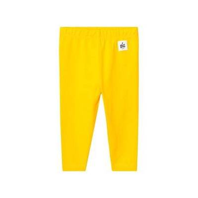 A Happy Brand Baby Leggings Yellow 50/56 cm - Børnetøj - A Happy Brand
