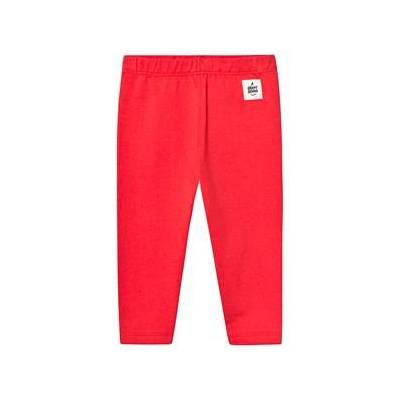 A Happy Brand Baby Leggings Red 86/92 cm - Børnetøj - A Happy Brand