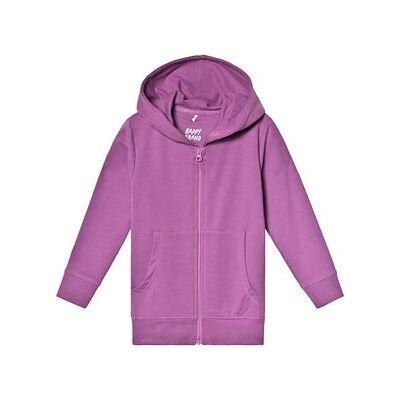 A Happy Brand Hoodie Purple 122/128 cm - Børnetøj - A Happy Brand