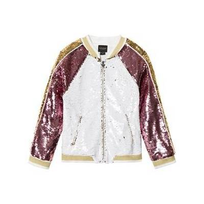 Guess Reversible Sequin Bomber Jacket 16 years - Børnetøj - Guess
