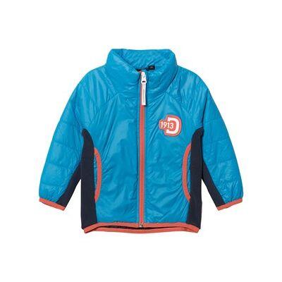 Didriksons Råne Jacket Sharp Blue 110 cm - Børnetøj - Didriksons