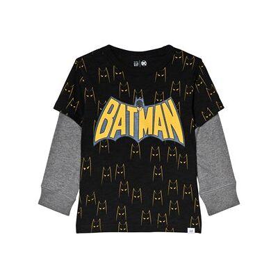 GAP DC™ Batman 2-in-1 T-Shirt 2 år - Børnetøj - GAP