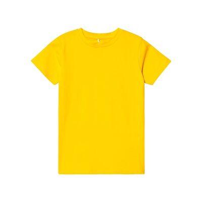 A Happy Brand Slim T-Shirt Yellow 134/140 cm - Børnetøj - A Happy Brand