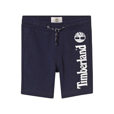 Timberland Navy Logo Sweat Shorts 2 years - Børnetøj - Timberland