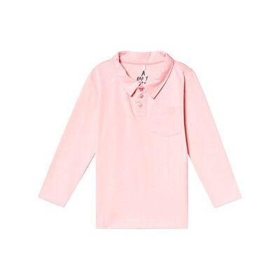 A Happy Brand Polo Shirt Pink 134/140 cm - Børnetøj - A Happy Brand
