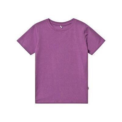 A Happy Brand Slim T-Shirt Purple 122/128 cm - Børnetøj - A Happy Brand