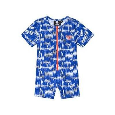 Hummel Drew Swim UV Body Suit Surf The Web 98 cm (2-3 år) - Børnetøj - Hummel