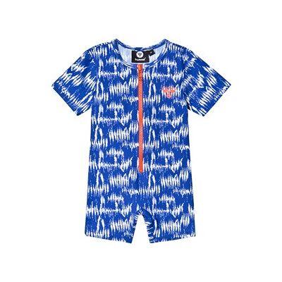Hummel Drew Swim UV Body Suit Surf The Web 80 cm (9-12 mdr) - Børnetøj - Hummel
