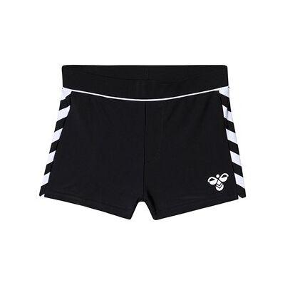 Hummel Joss Swim Shorts Black 110 cm (4-5 år) - Børnetøj - Hummel
