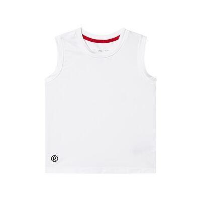 Reima Sleeveless shirt, Svart White 146 cm (10-11 år) - Børnetøj - Reima