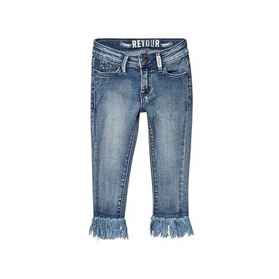 Retour Zoey Jeans Vintage Blue Denim 4 år - Børnetøj - Retour